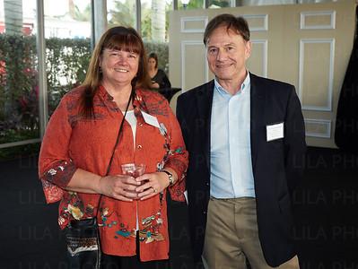 Linda Gavit, Dr. Chris Evans