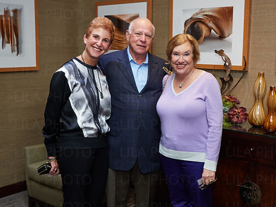 Myrna Hill, Howard Winer, Judy Rubin