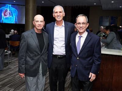 Dr. Bruce Levy, Irv Geffen, Ed Ricci