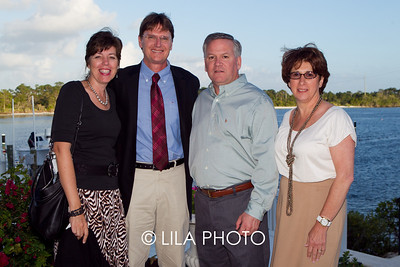 Dr. Ofelia Utset, Dr. Tom Kodadek, Pat & Elaine Griffin