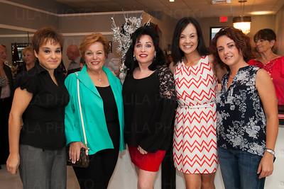Susan Rode, Ronnie Levine, Fonda Lee, Leta Lindley, Christina Grande