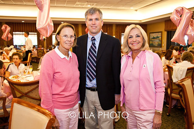 Chairs Marion Wiseman and Joy Hecht with Dr. Kendall Nettles