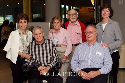 Dr. Ellen & Dr. Claude Gerstele, Naomi & Arnold Rothstein, Gary & Diane Gustafson