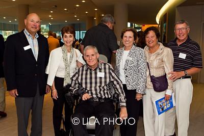 Joseph Scheller, Dr. Ellen & Dr. Claude Gerstele, Rita Scheller, Susan & Dr. Henry Lehrich