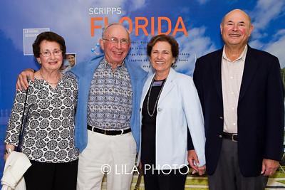 Rhoda & Leonard Glazier, Rita & Joseph Scheller