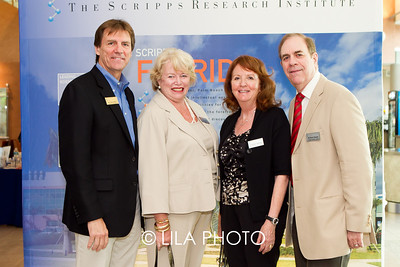 Ron Davis, Ellen Tansey, Carolyn & Richard Sloane