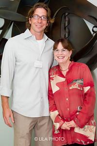 Gavin Rumbaugh Ph.D (on left)
