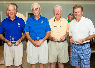 Dick Kramer, Mike Rich, Marty Burkhart , Don Lunerberg