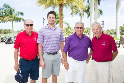 Joe Isenstein, Alec Cramer, Phil Lanctot and Dick Cramer.