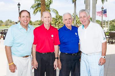 Jerry Uzansky, Burt Schwartz, Ed Broida and Len Levy.