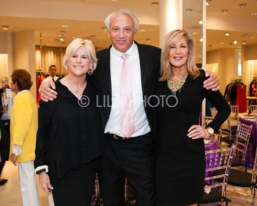 Mickey Berman, Dr. John Cleveland, Beth Pine
