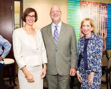 DeAnna Pledger, Dr. David Blinder, Eileen Berman