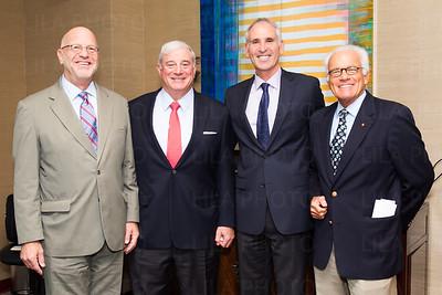 Dr. David Blinder, Tom Kaplan, Irv Geffen, Tim Henry
