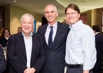 Lawrence Greenberg, Irv Geffen, Dr. Tom Kodadek