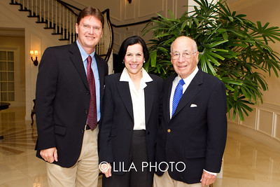 Dr. Tom Kodadek, Judy Goodman, Dr. John Goodman