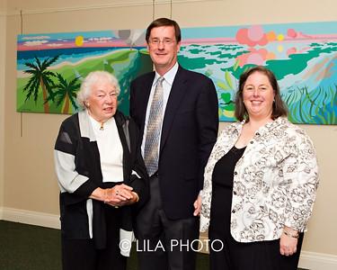 Jane Davis Doggett, Dr. Bill Roush, Rosalie Roush