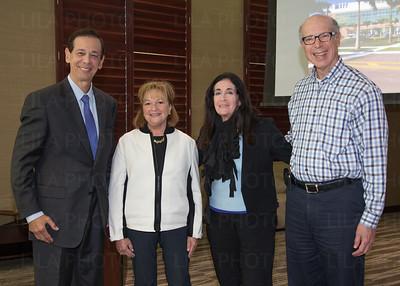 Joel Hart, Eva Blum, Barbara Shear, Herb Shear