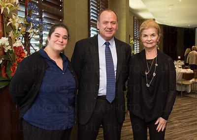 Dr. Marie Lafitte, Dr. Derek Duckett, Karen Fischer