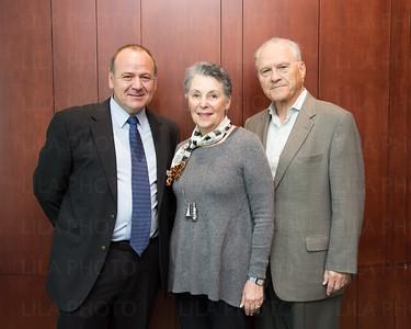 Dr. Derek Duckett, Carol Auerbach, Albert Berger