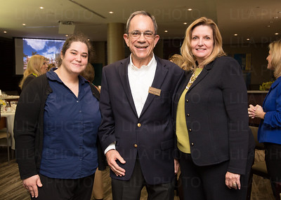 Dr. Marie Lafitte, Ed Ricci, Gail Horvath