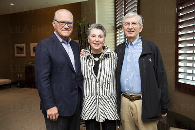 Albert Berger, Carol Auerbach, Leonard Klorfine