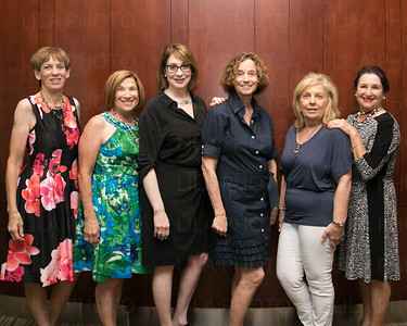 Janet Emerson, Phyllis Newman, Hope Kahn-Hoffman Ruth Naftaly, Miriam Schwed, Gladys Krenen