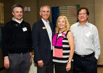 Dr. Matthew Disney, Irv Geffen, Nancy Hart, Dr. Michael Farzan