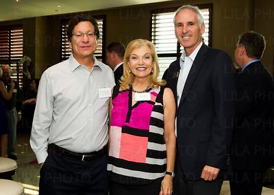 Dr. Michael Farzan, Nancy Hart, Irv Geffen