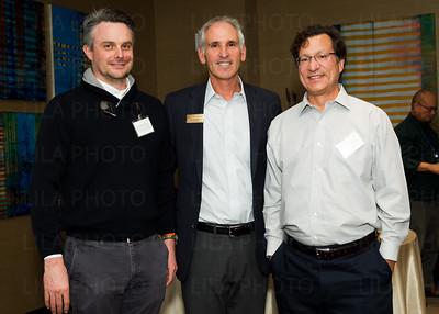 Dr. Matthew Disney, Irv Geffen, Dr. Michael Farzan