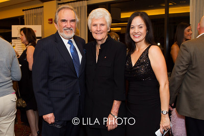 Dr. Roy Smith, Kathy Whitworth, Leta Lindley
