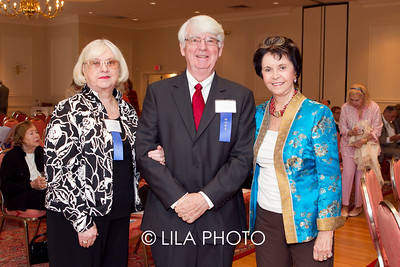 JoNett Butler, Dr. Jim Butler, Nancy Hogan