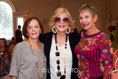 Mina Hyman, Suzie Minkoff, Dr. Maddy Singer