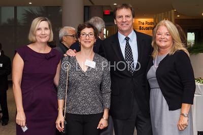 Kristin Lidinski, Babara Chamberlain, Dr. Ron Davis, Joanne Towner
