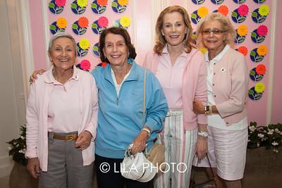 Shirley Goldberg, Carol Brown, Mimi Habush, Margie Kernan