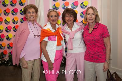 Muriel Saltzman, Barbara Fox, Judy Chesler, Barbara Lewis