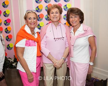 Barbara Fox, Muriel Saltzman, Judy Chesler
