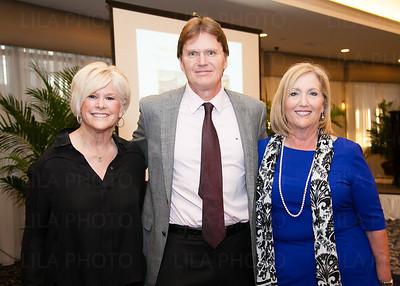 Mickey Berman, Dr. Tom Kodadek, Anne Stanfield