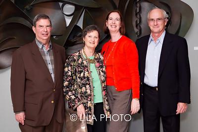 James Long, Jill Leinbach, Lisa & Joe Huertas