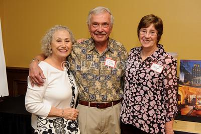 Diane and Dick Schwartz, Moya Dunn