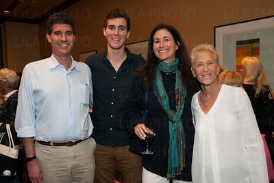Evan, Zack, & Susan Goldstein, Barbara Sedransk