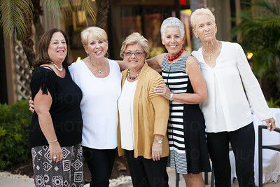 Brenda Diuro, Judy Furlotte, Terri Buda, Elaine Solomon, Barbara Sedransk