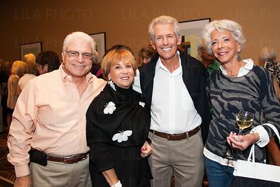 Larry & Susan Hazan, Jeffrey Reyweis, Bonnye Fine