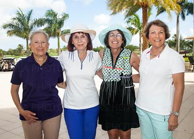 Marcia Hochberg, Linda Teitelbaum, Gayle Newman, Margery Block