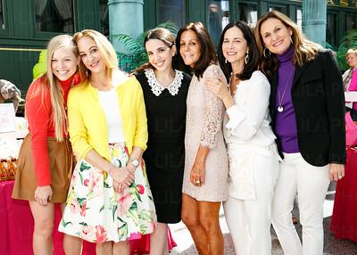 Hilary Jordan, Laura Munder, Johanna Kandel, Didi Merck, Nancy Richter, Kathy Leone
