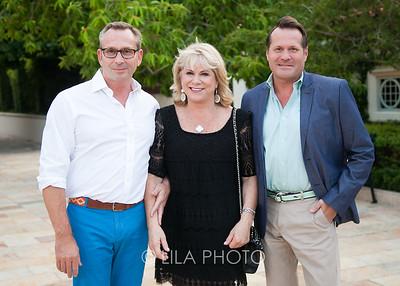 JB Edwards, Susan Dyer, Scott Moses