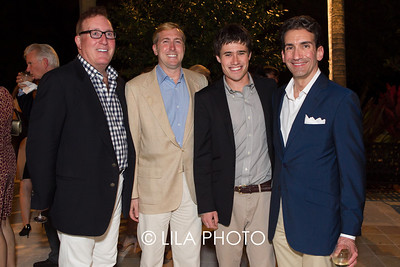 Bruce Langmaid, Charles Poole, Charles Daly, Brian Sipe
