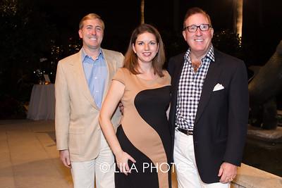 Charles Poole, Katie Edwards, Bruce Langmaid