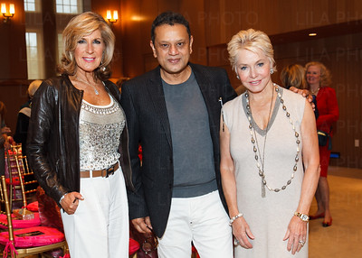 Beth Pine, Naeem Khan, Ambassador Mary Ourisman