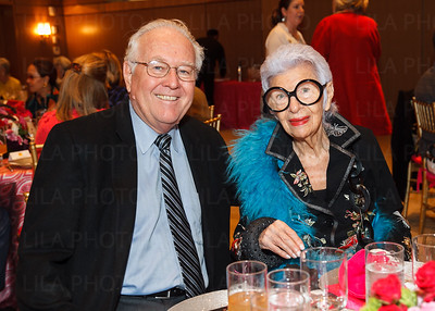David W. Breneman, Iris Apfel