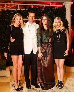 Hannah Selleck, Matthew Bucklin, Ariana Rockefeller, Erin Stewart